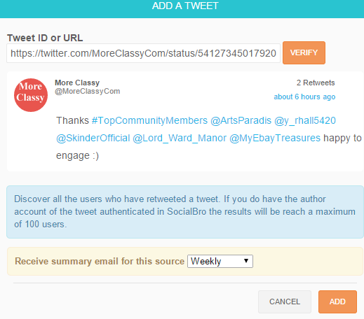 Beginner's Guide To SocialBro, Twitter Automation Tool | Thats Journal