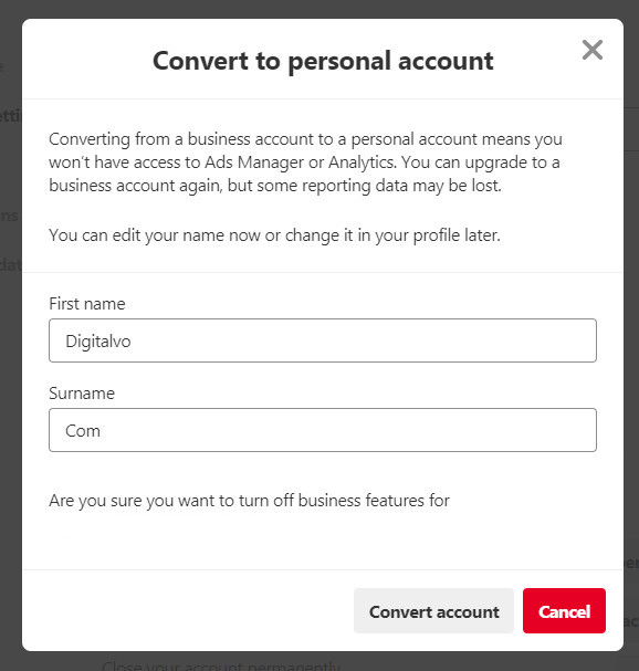 How To Create And Convert To Free Pinterest Business Account